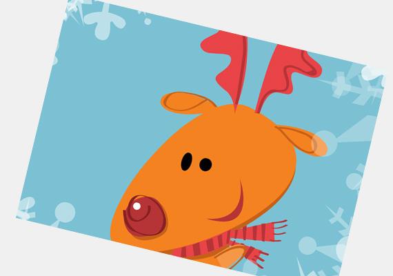Rudolf rokona már alig várja, hogy a kispadról végre a rendes szánhúzók csapatába kerüljön. A képeslapot itt találod. »