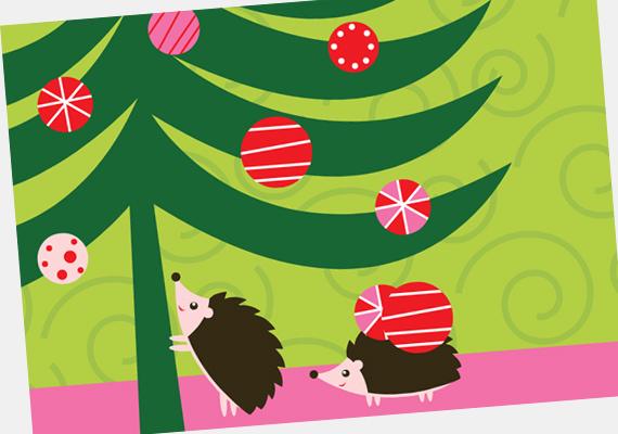- Alaposan rázd meg a fát, nehogy egyetlen dísz is rajta maradjon. A képeslapot itt találod. »