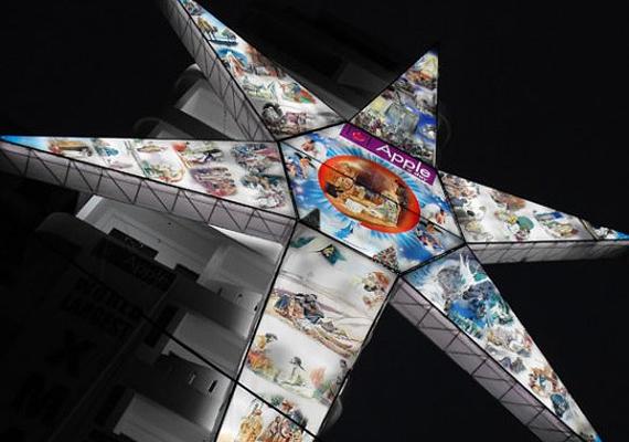 2009-ben került fel ez a csillagdísz egy indiai épület tetejére. A 32 méteres alkotás azóta is a világ legnagyobbika a maga kategóriájában.