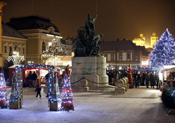 December 1-jén nyit az egri Eszterházy téren a karácsonyi vásár, ahol gasztronómiai különlegességekkel és adventi programokkal is találkozhatsz.