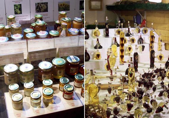 A mézes- és borosstandok nem árulnak zsákbamacskát, ingyen kóstolót adnak mindkét helyen.