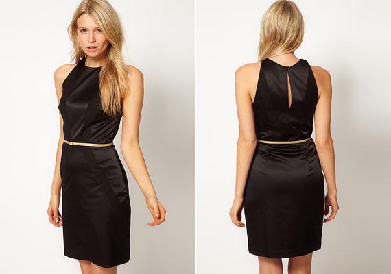 Egy egyszerű ruha is vékonyabbnak mutat, ha övvel viseled.