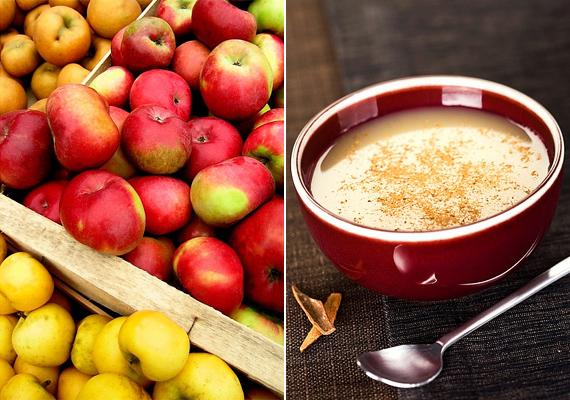 Az alma, a fahéj és a szegfűszeg mesés aromája keveredik a forró almalevesben. Így készítsd el! »
