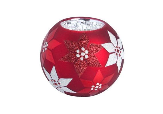 Ez a mécsestartó olyan, mintha egy üveggömb lenne a karácsonyfáról. A Butlersben 1190 forintért juthatsz hozzá.