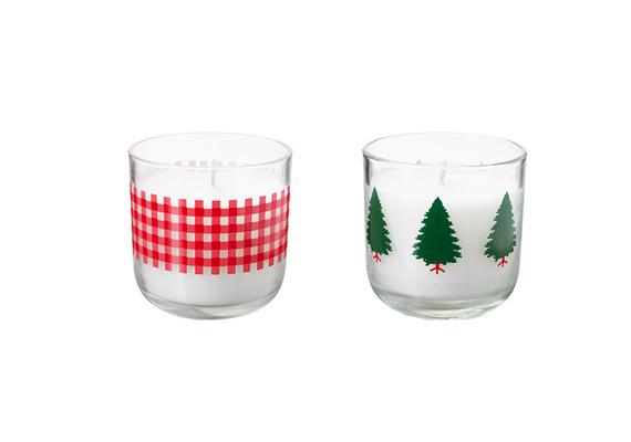 Szintén az áruház kínálatában találod ezeket a klasszikus karácsonyi színvilágú mécseseket. 795 forintért árulják az illatozó gyertyákat.