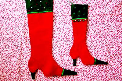 Rendhagyó Mikulás-zokni, barátnőknek, kolléganőknek.