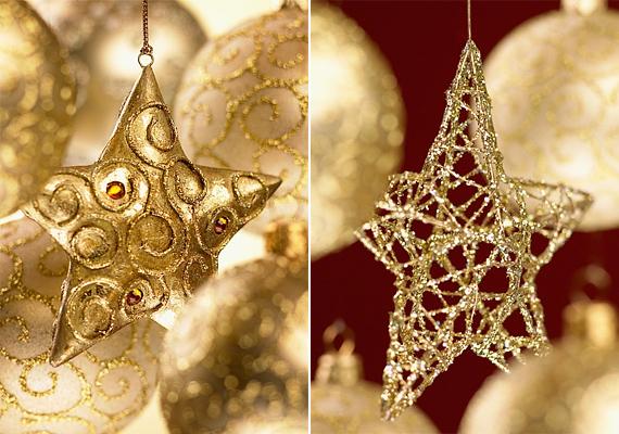 Az arany csillagok békét és meghittséget hoznak otthonodba, olyan, mintha a szikrázó égitestek csak neked ragyognának.