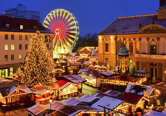 A németországi Magdeburg karácsonyi fényei és vására egyszerűen lenyűgöző.