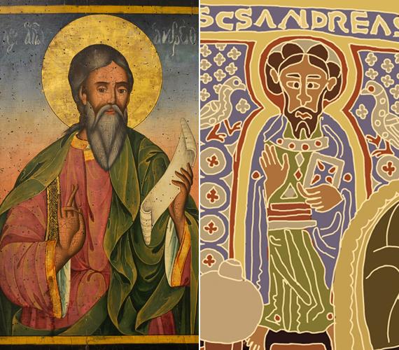 Jézus feltámadása után Kis-Ázsiában, Örményországban és Kurdisztánban hirdette az igét. A szeretetre, és nem az erőszakra épülő munkája valószínűleg nagyban hozzájárult ahhoz, hogy Örményországban vált először államvallássá a kereszténység.                         András sikerrel térítette meg a szkítákat is: letelepedett az országukban, és a vallási életük egyik fő alakítója lett. A szkíták és Thrákia után Görögországban folytatta tevékenységét.