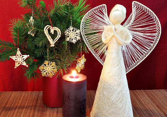 Biztosan neked is rejtőzik legalább egy olyan angyalkadísz a vitrinben, amit valamelyik rokontól kaptál. Most itt az idő, hogy elővedd, és gyertyát gyújts mellette.
