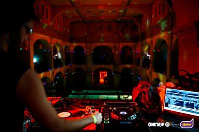 Látvány a DJ-pultból