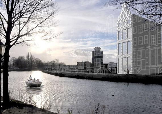 Az építési telek Amszterdam északi részén található. Bár akár lakni is lehetne benne, a tervek szerint a kész épület egyfajta bemutatóhely lesz, olyan kutatási központ, ahol ezzel a technológiával foglalkoznak majd.