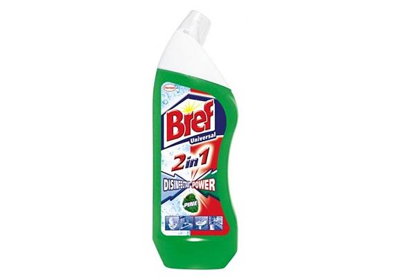 A Bref 2in1 univerzális tisztító a mosdó, kád, WC esetében egyaránt segít, hogy újra átjárja a víz a lefolyót, de a vízkővel is könnyedén elbánik.