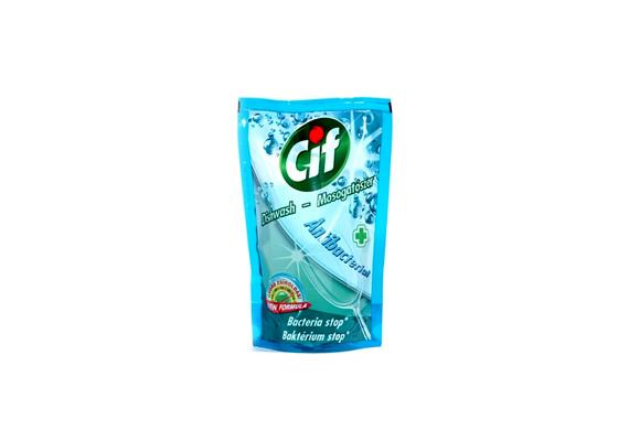 A Cif Antibakterial egyik nagy előnye, hogy nem engedi a mosogatószivacson megtelepedni a baktériumokat.