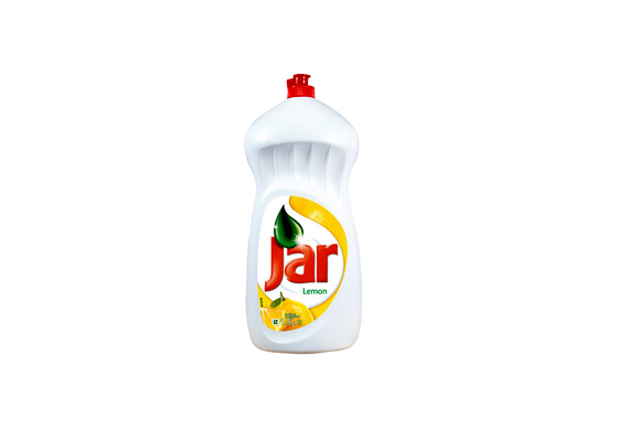 A citromos Jar kíméletlen a zsírral, viszont kíméletes a kézzel, és friss illatot áraszt.