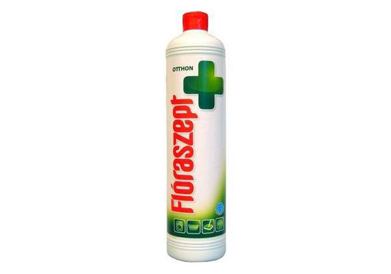 A Flóraszept általános tisztítószere sokféle felület fertőtlenítésére és tisztítására használható, mi a felmosóvízbe is szoktunk cseppenteni.