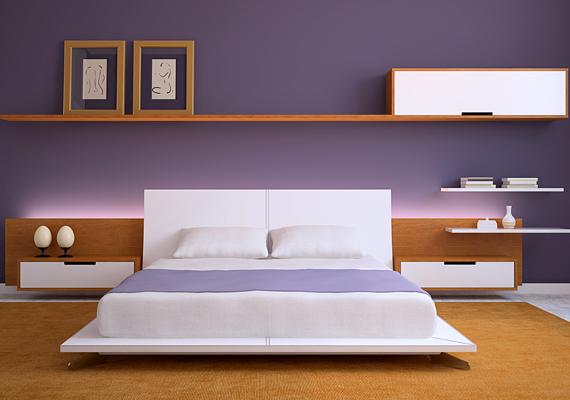 A sötétebb lila a szín említett hatásain túl az álmatlanság enyhítésében is megoldást nyújt: tartalmas, pihentető alvást biztosít.