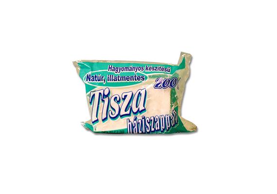 A háziszappan vagy mosószappan az egyik leghagyományosabb mosószernek számít, ráadásul nagyon olcsó. A Tisza Háziszappan, mely teljesen természetes, illatmentes és környezetbarát, csupán 240 forintba kerül.