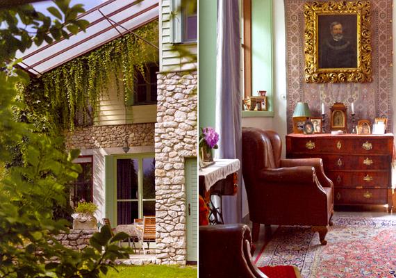 A híres operatőr, Ragályi Elemér dél-franciaországi hangulatot idéző otthonát a budai kertvárosi övezetben rendezte be.
