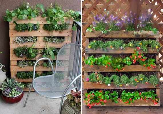 Mindemellett a virágok, növények számára is praktikus lakhelyként szolgál.