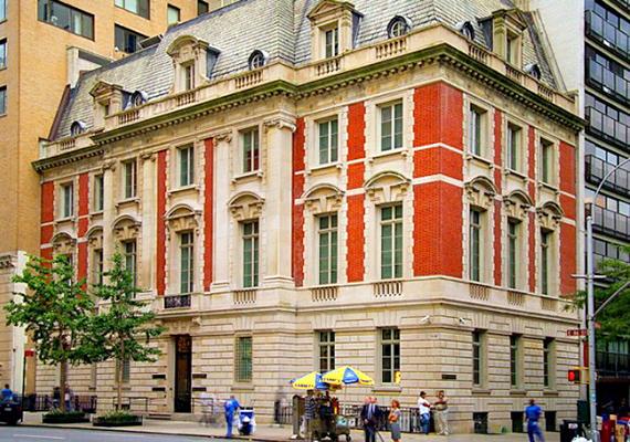 Az üzletember 2010-ben vásárolta meg ezt az 1901-ben épült, csodaszép ingatlant a manhattani Fifth Avenue sarkán, New Yorkban.