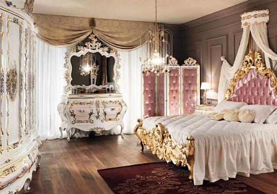 A barokknak is megvan a maga szépsége, ám a cikornyás bútorokkal, az aranyfuttatással és a bársonybevonatú paravánnal most sikerült ezt a lakberendezési stílust tönkretenni.