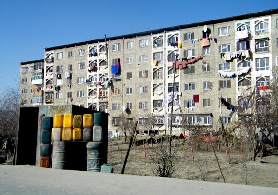 A szovjet hatás az afganisztáni Kabulban is szemmel látható.