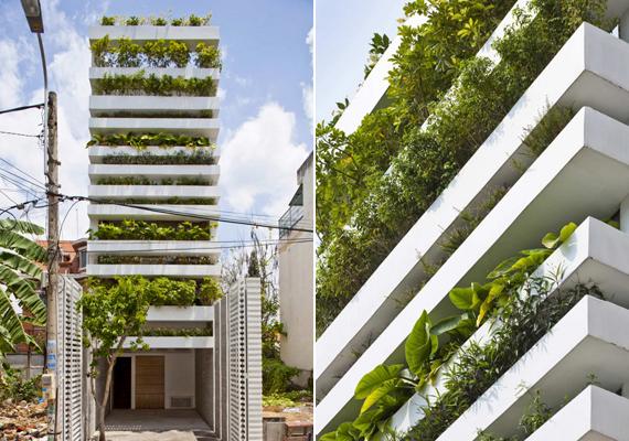 2012-ben kategórianyertes lett a Ho Chi Minh városban, vagyis Saigonban található zöld hitvallású épület is, vele együtt pedig tervezője, a Vo Trong Nghia Architects.