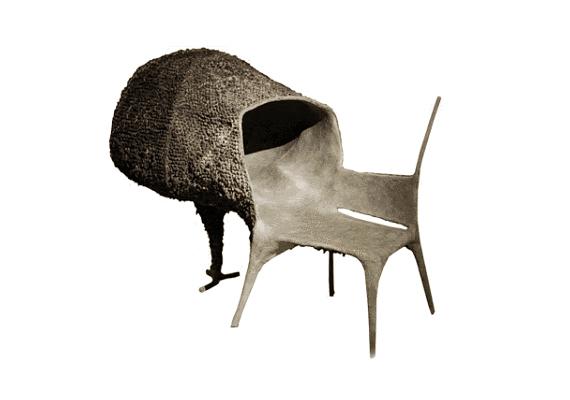Nacho Carbonell Evolúció és szerelem nevezetű székét nem biztos, hogy sokan látnák viszont szívesen a lakásukban.