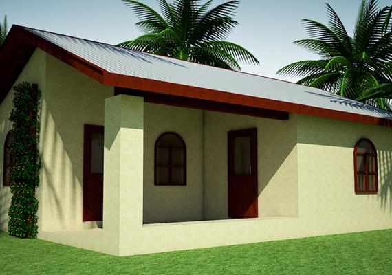 Az alapépületet bővíteni is lehet.