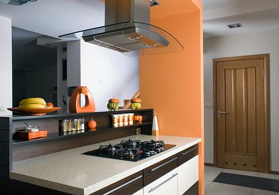 Az aranyló karamell, az étcsokoládé és a tejcsokoládé hármasa ideális választás modern terekbe.