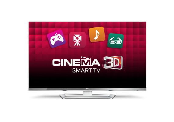 A 3D tévék közül az LG 47 colos Cinema 3D Smart TV lett a legjobb.