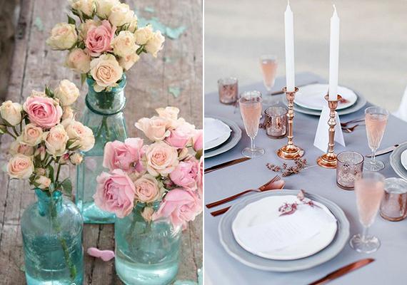 Csupán kiegészítőkön, dekorációs tárgyakon alkalmazva is meseszép a színkombináció.