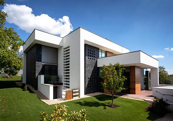 Szintén különdíjas lett ez az új építésű családi ház, mely Budapest XI. kerületében található.
