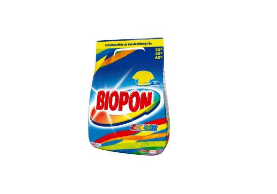 A Biopon Color mosóporból két kiló csak 1200 forint.