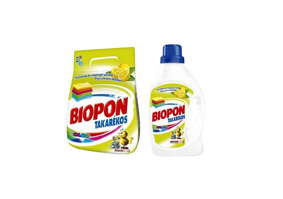 A Biopon Color takarékos mosóport még olcsóbban megkaphatod, négy kilóért csak 1800 forintot kell fizetned.