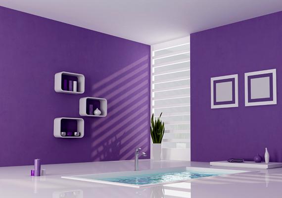 A lila igen kedvelt szín, azonban túl nagy mennyiségben - különösen kékesebb árnyalatai révén - nem csupán nyugodttá, de depresszióssá és fáradékonnyá tehet.