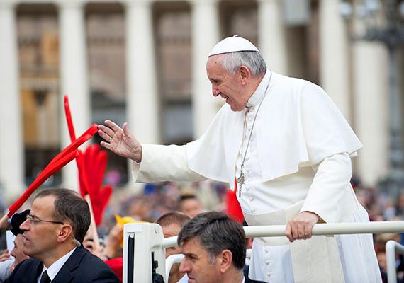 1903 óta Ferenc az első pápa, aki úgy döntött, nem költözik be az Apostoli Palotába.