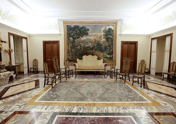 A híres Kínai szoba a nyári rezidencián.