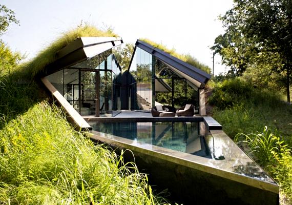 Az amerikai Texas államban alkották meg ezt a sövényháznak is becézett otthont, mely annyira beleolvad a környezetbe, hogy a tervezők szerint szinte észrevehetetlen, ha csak valaki nem konkrétan ezt keresi.
