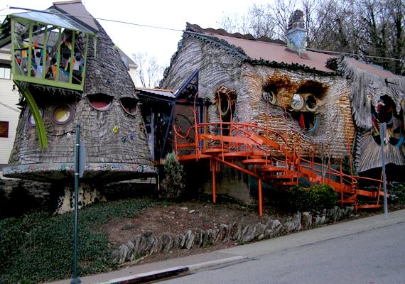 A Mushroom House, vagyis a Gomba-ház az amerikai egyesült államokbeli Cincinattiben.