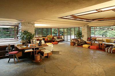 A ház nappalija