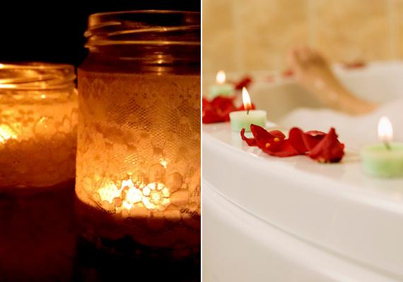 Egészen új, meghitt hangulatot kölcsönözhetsz a helyiségnek, ha dekoratív mécsesekkel rakod tele.