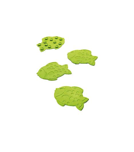 Csúszásgátló a JYSK-tőlHogyan teheted biztonságossá, egyben dekoratívvá a kádat? A JYSK mókás csúszásgátlóival. Csak tapassz négy-öt halacskát a kádba vagy a zuhanytálcára, és kész is.