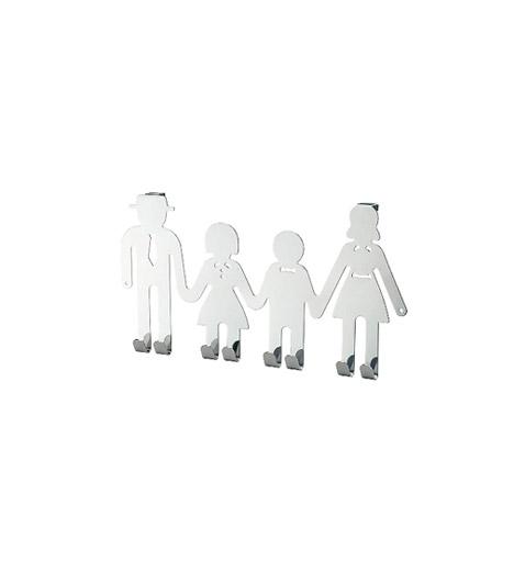 Családi fogas a KikátólApa, anya és a csemeték fürdőköpenyének is lesz hely a fürdőszobában, ha az ajtóra a KIKA Family fogasát rögzíted fel. A krómozott fogas bármilyen stílusú fürdőszobának mutatós kiegészítője lehet.