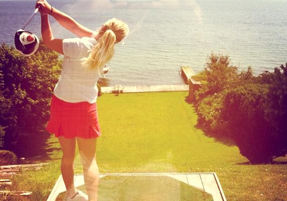 Golf nélkül soha.