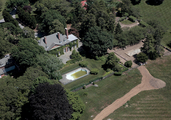 New York polgármesterének, Michael Bloombergnek híressé vált southamptoni otthona.