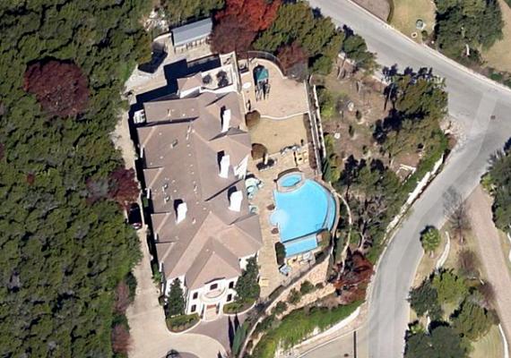 Az amerikai, republikánus Mike McCaul háza Austinban.
