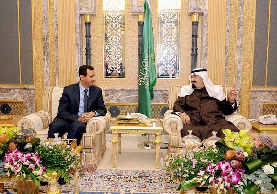 Abdullah Bin Abdul Aziz szaúd-arábiai királynak több háza is van: a kép riyadhi farmján készült.