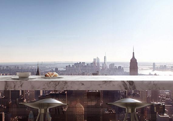 A méregdrága építési telken felhúzott hatalmas torony a harmadik legmagasabb épület az Amerikai Egyesült Államokban, New Yorkban pedig a második. Olyan hatalmas azonban, hogy a Central Parkra is árnyékot vet, nem beszélve arról, hogy a városkép drasztikus megváltoztatása miatt is érték kritikák.